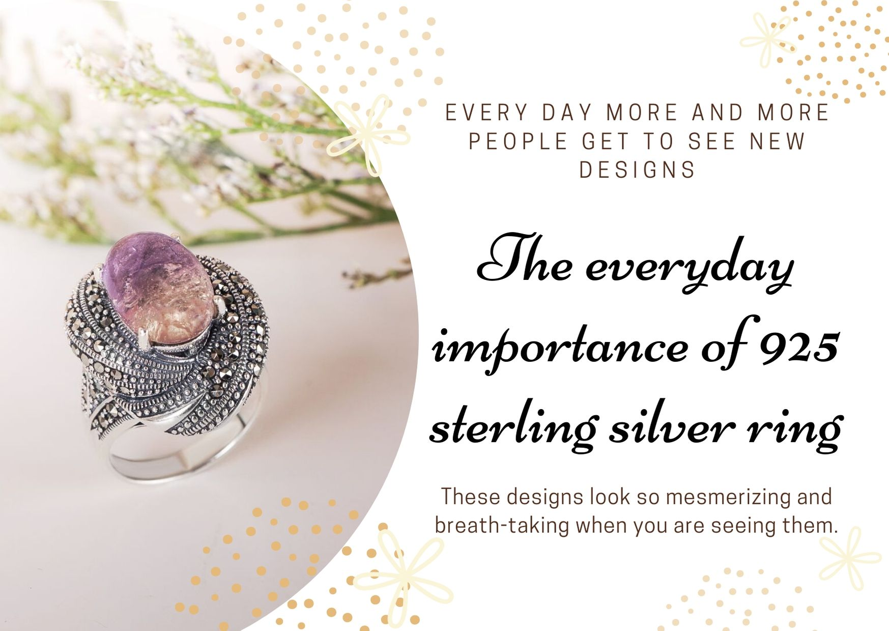 The everyday importance of 925 sterling silver ring