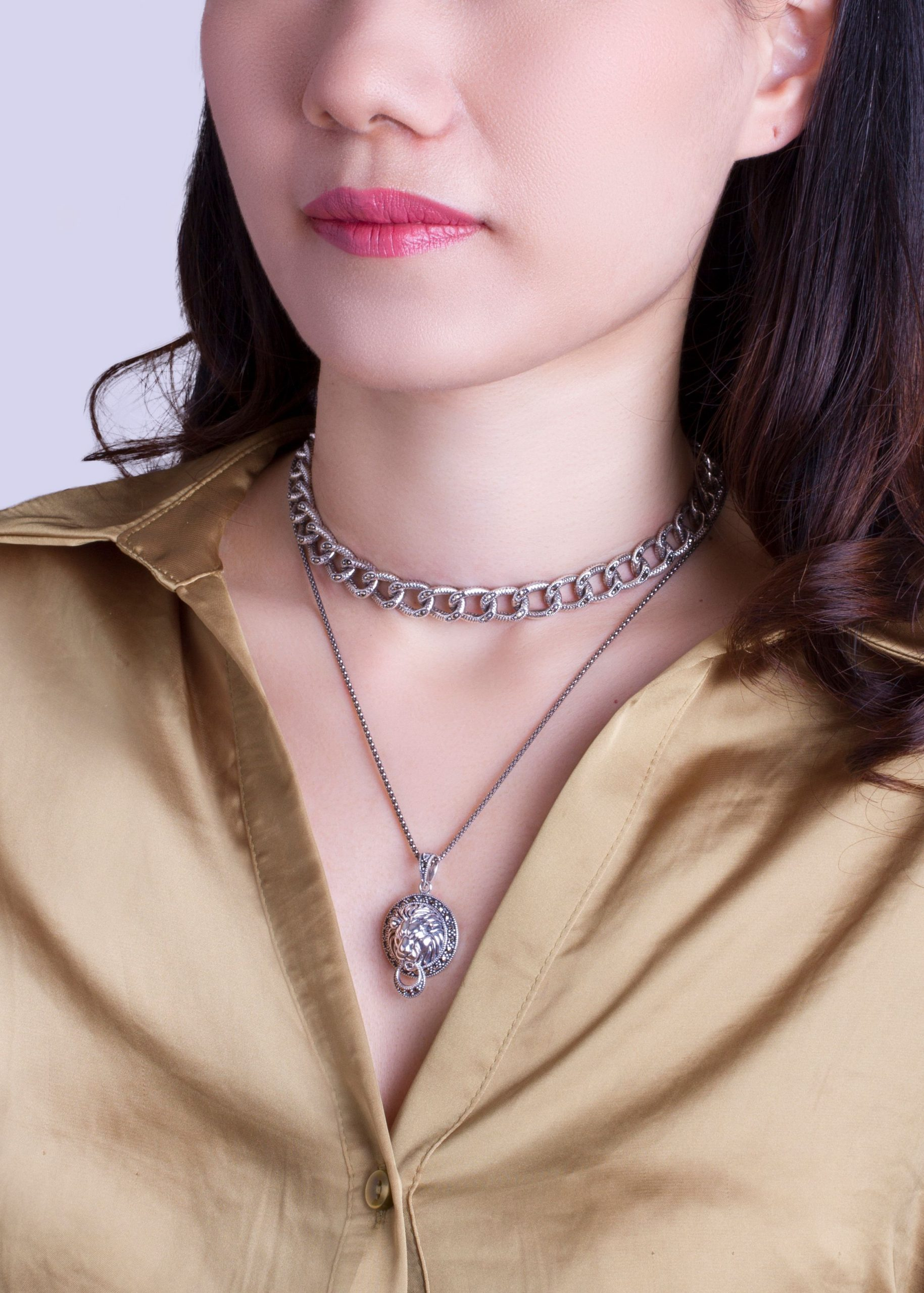 925 silver necklace 01